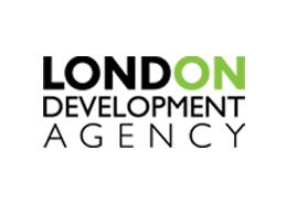 The logo of London Development Authority