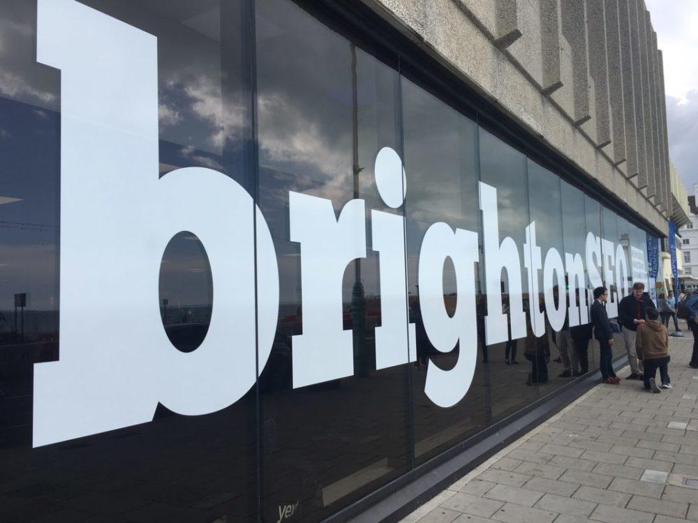 Brighton SEO Entrance